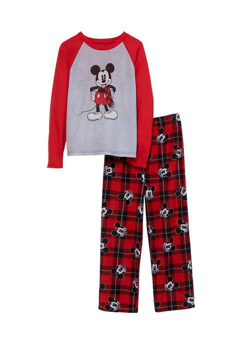 Disney® Mickey Toddler Boys Mickey Family Pajama Set