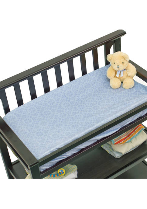 Nurture Baby Boys Blue Geo Changing Pad Cover