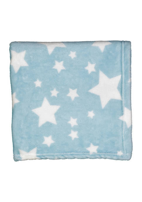Baby Mode Baby Boys Plush Star Blanket