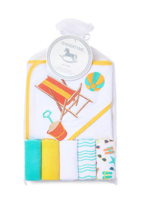 Baby Towel and Washcloth Gift Set