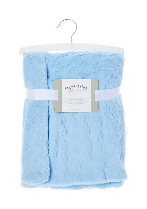 Tendertyme Baby Boys Luxury Plush Rabbit Fleece Blanket