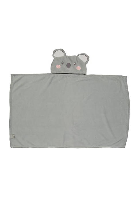 Jesse & Lulu Toddler Plush Koala Hooded Blanket