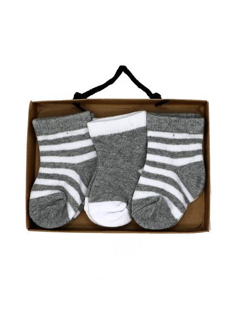 Grandmas2Share Baby Girls and Boys 3 Pack Socks,