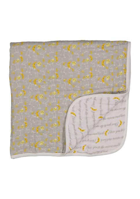 Jesse & Lulu Baby 4 Layer Muslin Blanket