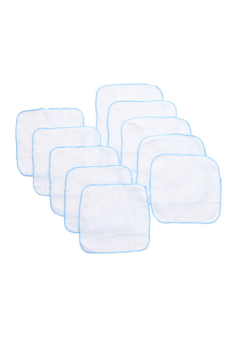 Baby Boys 10 Pack Terry Washcloths