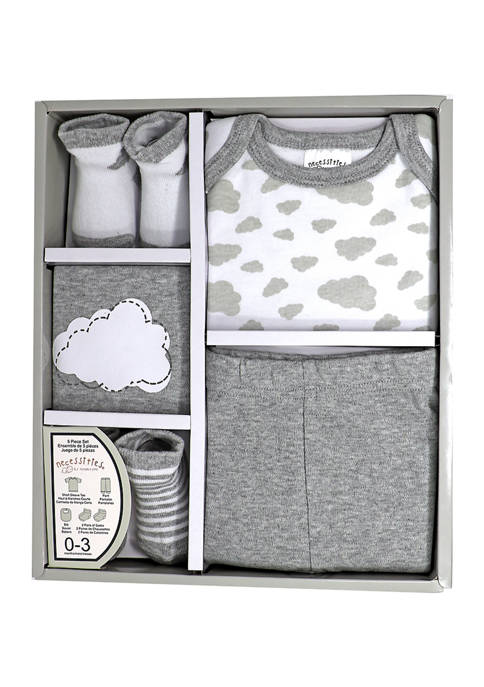 Tendertyme Baby 5 Piece Apparel Gift Set
