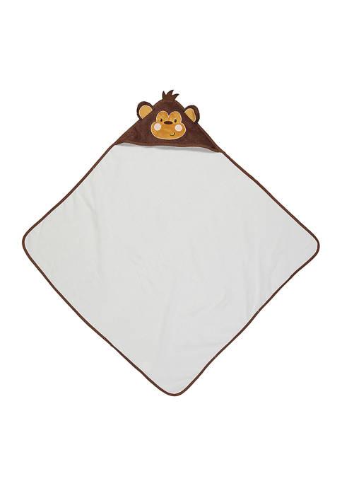 Baby Monkey Hooded Bath Towel