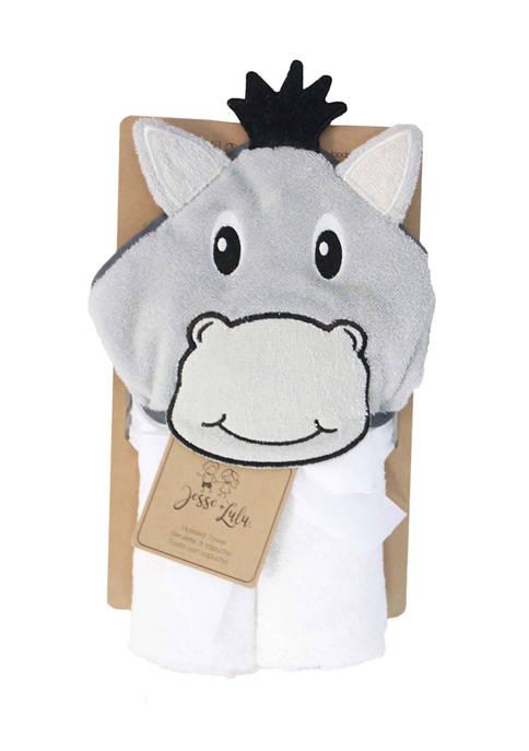 Baby Donkey Hooded Bath Towel