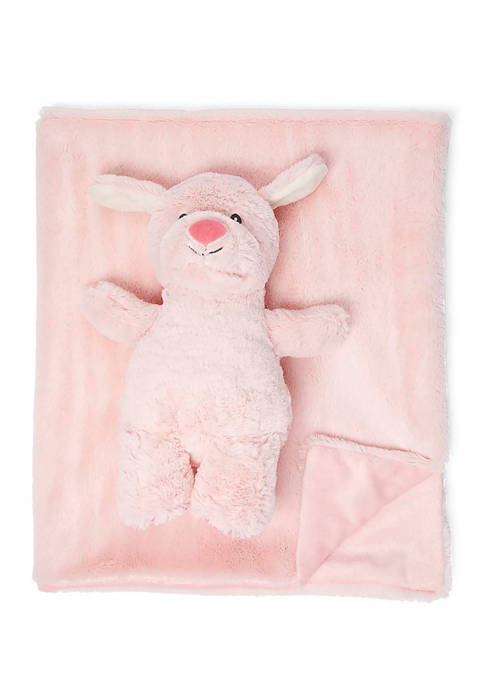 Jesse & Lulu Baby Plush Blanket with Matching