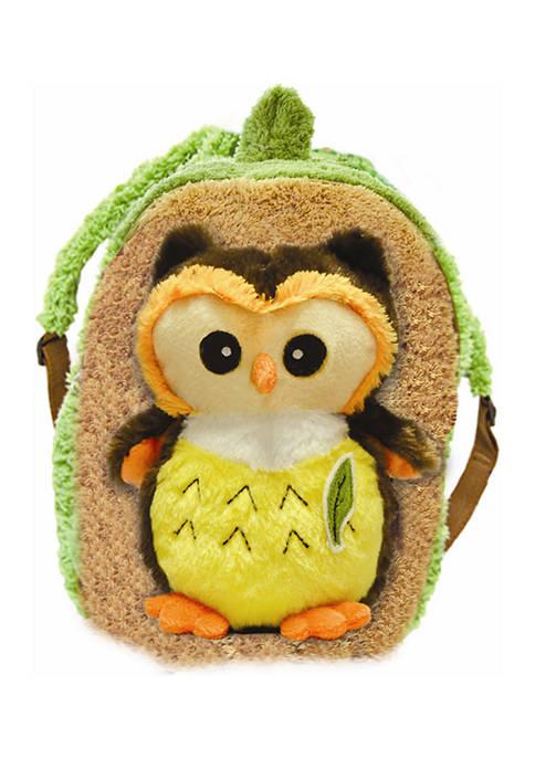Pecoware Toddler Buddy Bright Eyes Owl Backpack