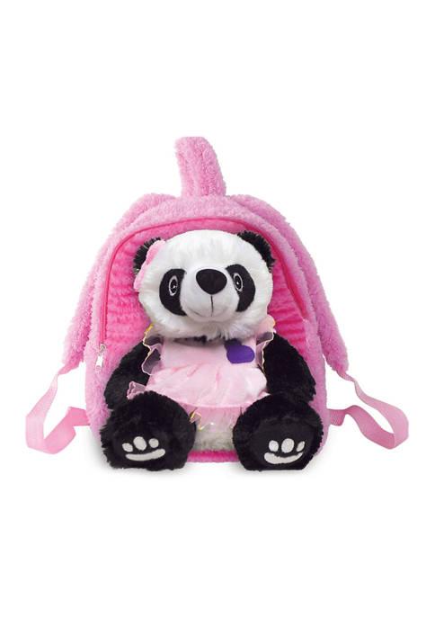 Pecoware Toddler Girls Buddy Pretty Pink Panda Bear