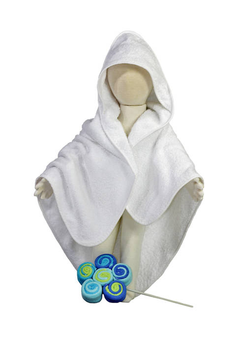 3 Stories Trading Baby Boys Terry Cloth Hooded