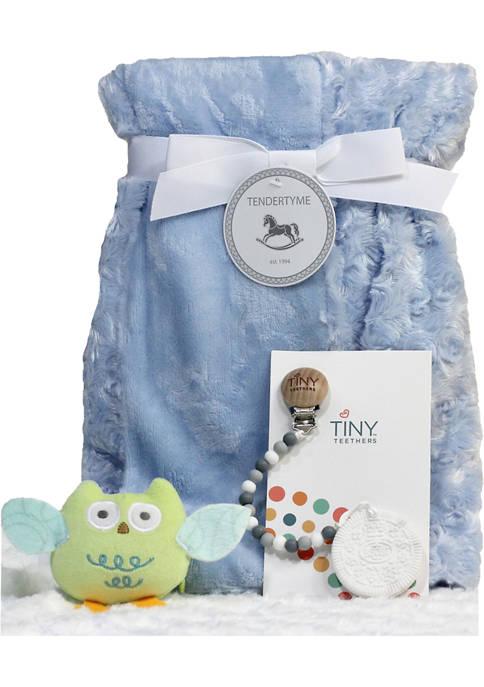 3 Stories Trading Baby Boys Blanket Gift Set