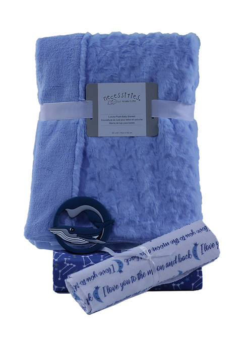 3 Stories Trading Baby Boys Blankets Gift Set