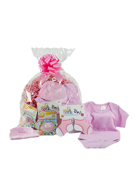 3 Stories Trading Baby Girls Layette Gift Assortment