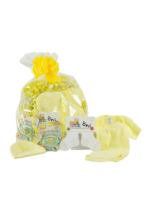 3 Stories Trading Baby Yellow Layette Gift Assortment