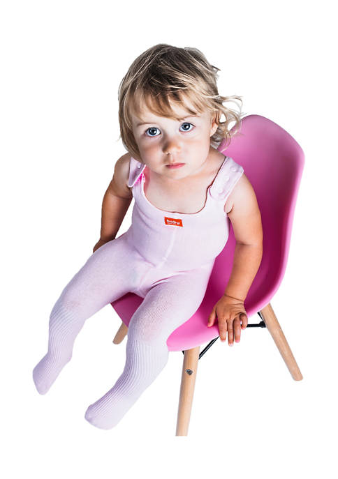 Baby Comfit Baby Girls Pink Full Body Tights