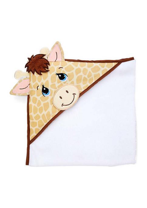 Precious Moments Baby Giraffe Hooded Bath Towel