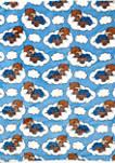 Baby Boys Blue Coral Fleece Blanket