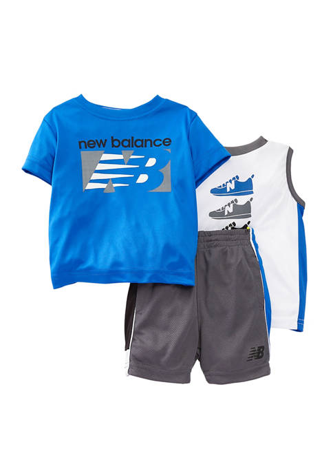 New Balance Toddler Boys 3 Piece Graphic Set