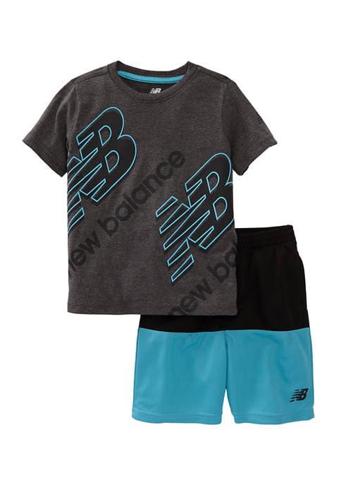 Toddler Boys 2-Piece Active Shorts Set