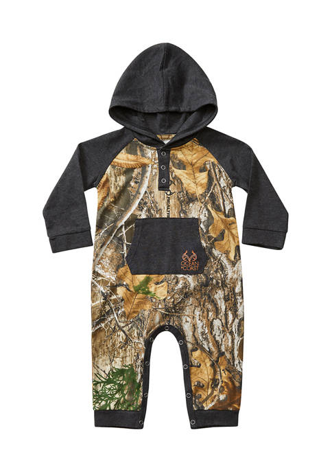 Realtree® Baby Boys All Over Camouflage Romper