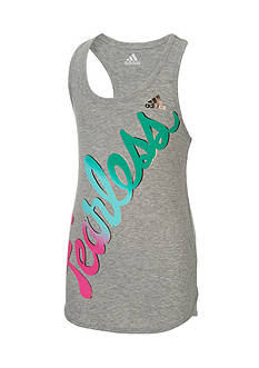 adidas® On The Run Tank Top Toddler Girls