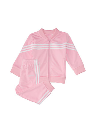 3403a0bff8 Toddler Girls 2 Piece Linear Tricot Jacket Set