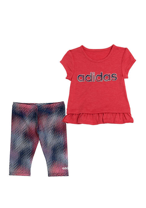 adidas Toddler Girls Always On Capri Set
