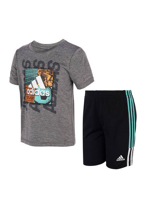 adidas Toddler Boys Speed Shorts Set