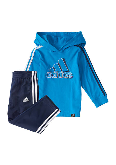 Baby Boys 2 Piece Graphic Hoodie Set