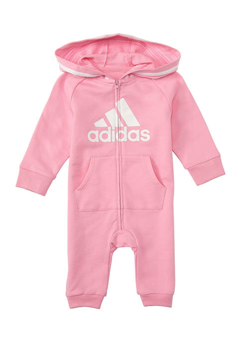 adidas Baby Girls Graphic Coverall