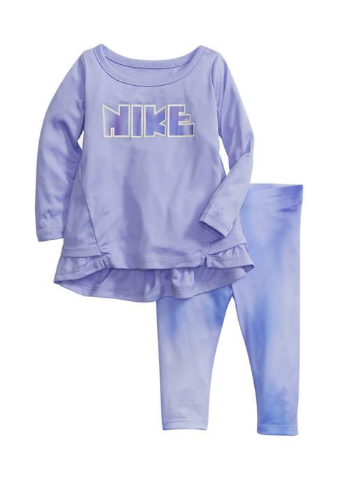 Nike® Toddler Girls Top and Leggings Set