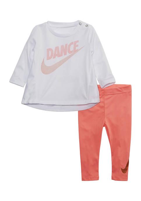 Baby Girls Dance Tunic and Legging Set
