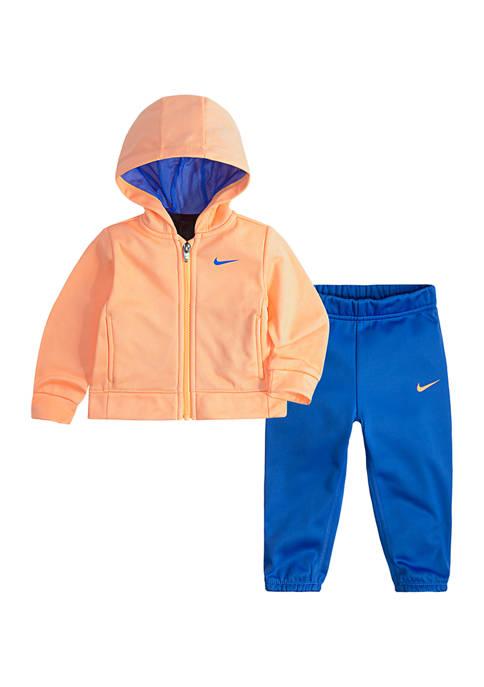 Nike® Toddler Girls Therma Hoodie Set