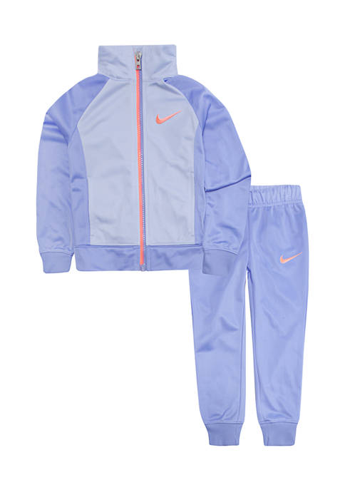Nike® Toddler Girls Colorblock Swoosh Tricot Set
