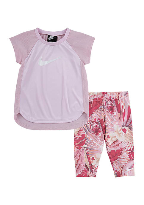 Nike® Toddler Girls Dri-FIT Top and Leggings