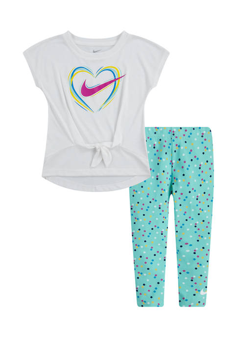 Toddler Girls Sportswear Legging Set