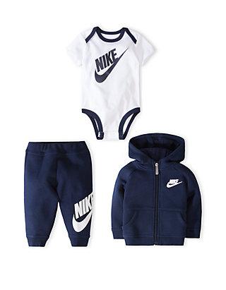 48fd810d1 Nike® Baby Boys Bodysuit, Hoodie and Pants 3-Piece Gift Box Set   belk