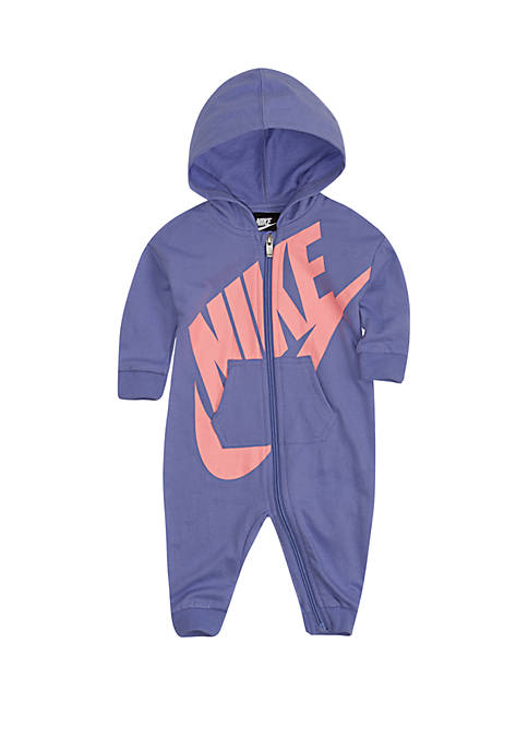 Nike® Baby Boys French Terry Hooded Coverall