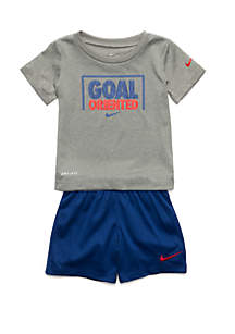 a53f799afe5 ... Nike® Baby Boys Goal Oriented Tee and Short Set