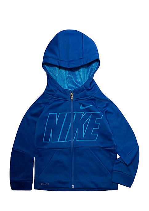 Nike® Toddler Boys Therma-FIT Logo Zip Scuba Hoodie