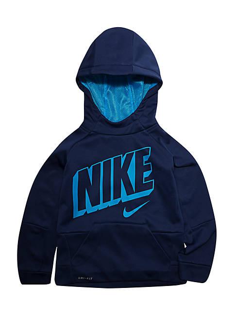 Nike® Toddler Boys Blue Void Therma-FIT Hoodie