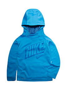 Nike® Toddler Boys Blue Void Therma-FIT Hoodie