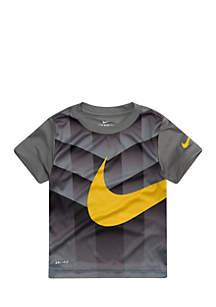 Toddler Boys Dri-FIT Shield Swoosh Short Sleeve T-Shirt