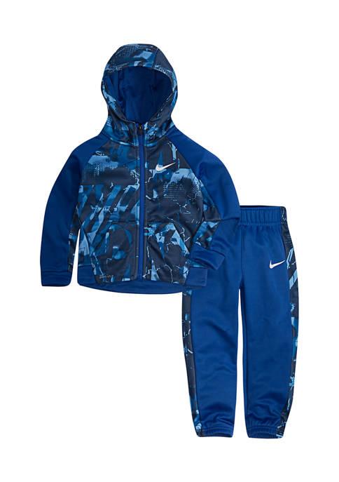 Toddler Boys 2 Piece Thermal Jacket and Pants Set