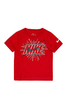 Nike® Toddler Boys Fireworks Cotton Short Sleeve Tee
