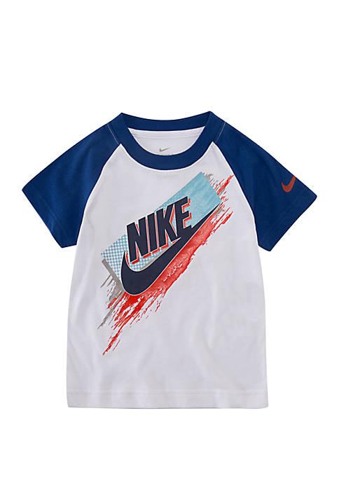 Nike® Toddler Boys Halftone Stroke Futura Short Sleeve