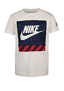 Nike® Toddler Boys Americana Futura Cotton Short Sleeve Tee