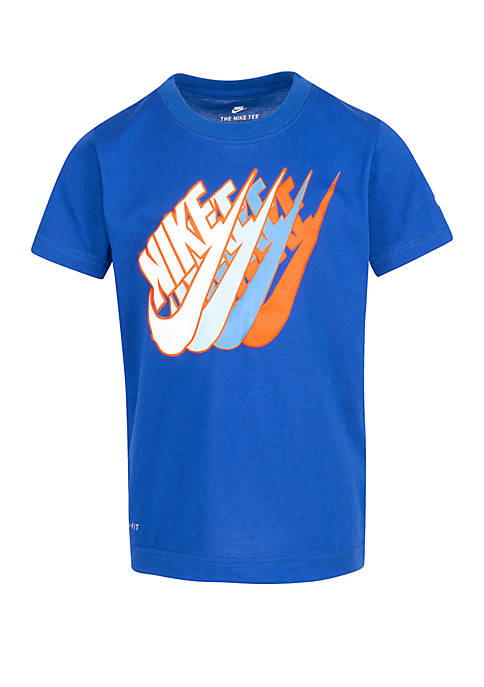 Nike® Toddler Boys Futura Repeat Cotton Short Sleeve